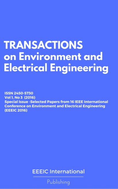 Special Issue -Selected Papers from 16 IEEE International Conference on Environment and Electrical Engineering (EEEIC 2016)